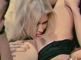 Jenna Jameson lez licking with Tiffany from Hall of Fame Stars