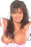 Teri Weigel strips showing her big tits from Hall of Fame Stars